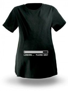 Think Geek Maternity T-Shirt.