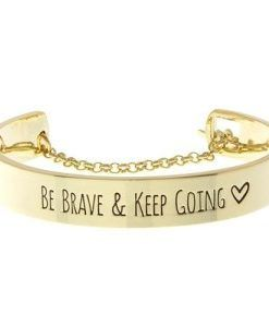 bracelet-be-brave-keep-going-