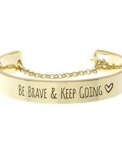 bracelet-be-brave-keep-going-