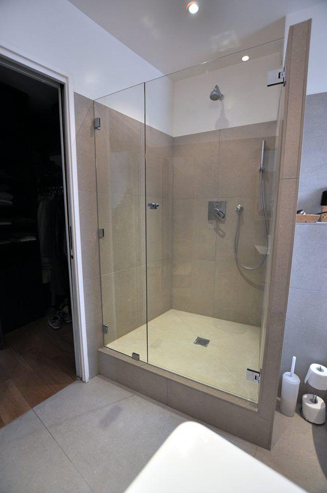 Pare baignoire sous pente good rideau sous pente nouveau - Porte douche sous pente ...