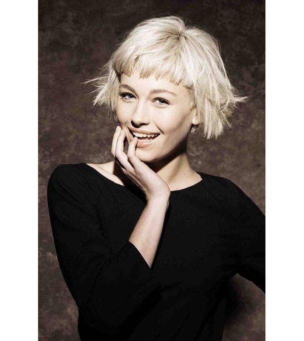 Les 25 meilleures id es concernant frange courte sur pinterest coiffures franche courte - Pinterest coiffure femme ...