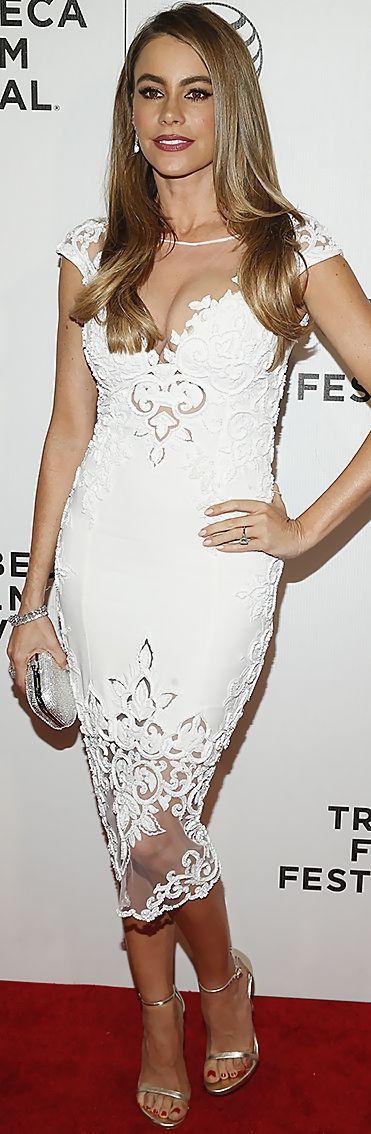 Sofia Vergara LIKE | PIN | FOLLOW! #skirt #dress #pants #shorts #bikini #sunglasses #shoes #lingerie #hair #bag #crochet #tattoo #gold #kiss #sex #sexy #hot #girl #woman #sensual #like #erotic #fashion