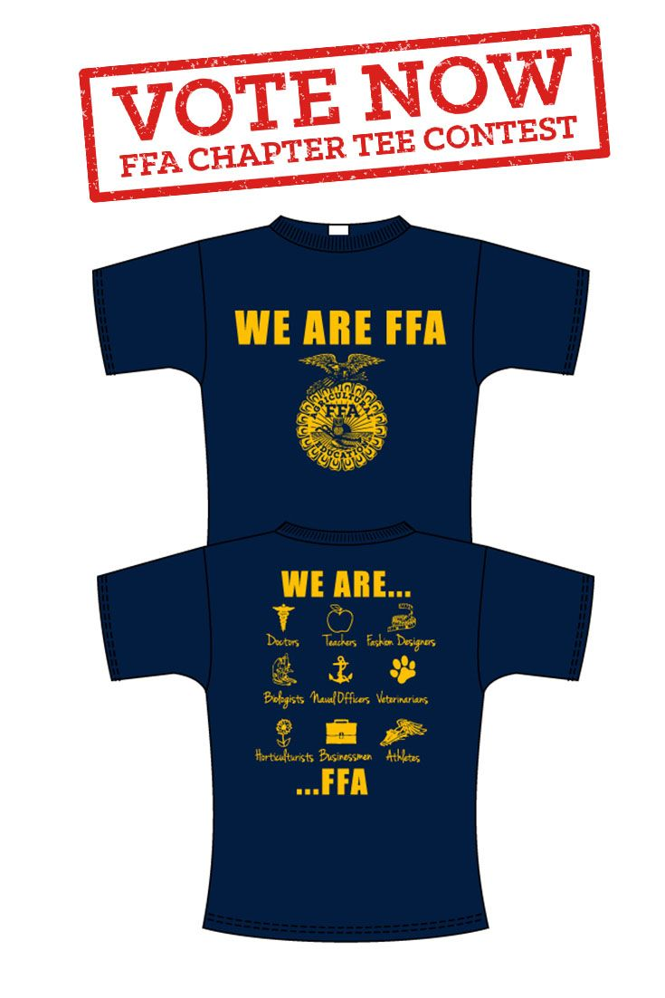 24 best images about ffa chapter tee contest on pinterest