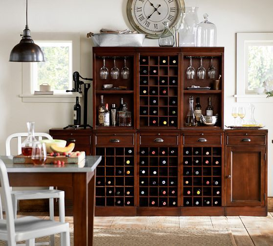 build your own modular bar cabinets home decor ideas wine hutch bars for home bar furniture. Black Bedroom Furniture Sets. Home Design Ideas