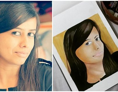"Check out new work on my @Behance portfolio: ""Portrait Painting."" http://on.be.net/1OHV1xK"