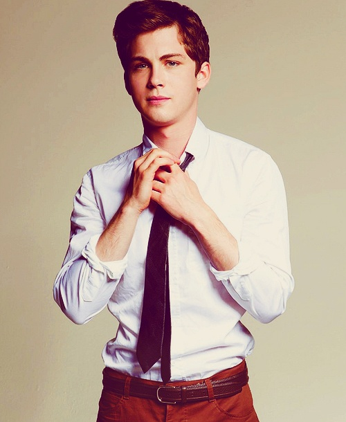 Logan Lerman.. if you wanna marry me then that's fine..