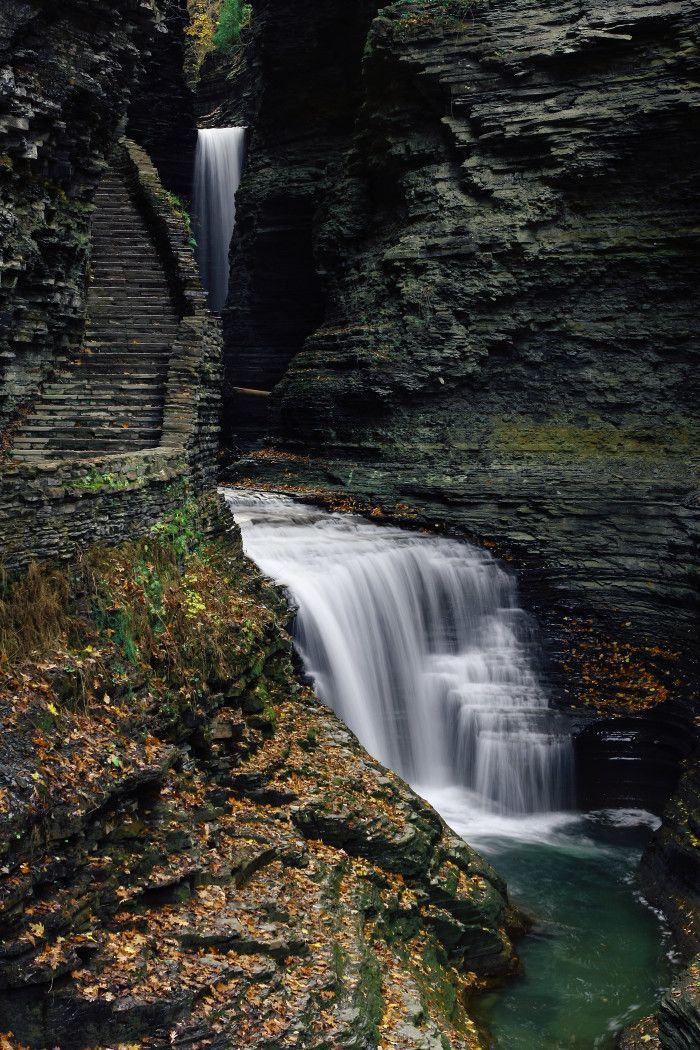"""12 Incredible Hikes Under 5 Miles Everyone In New York Should Take"" 2. Watkins Glen State Park, Watkins Glen"