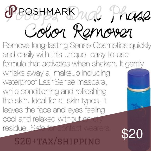 SeneGence Fooops! Makeup remover Remove all of your makeup at the end of the day. This will remove waterproof mascara and SeneGence products without making leaving your skin feeling oily. This will remove permanent marker. It only takes a few drops and will last several months. This is unopened brand new. SeneGence Makeup Foundation