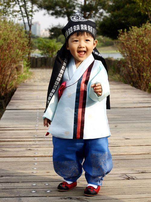 hanbok for babies - Google Search
