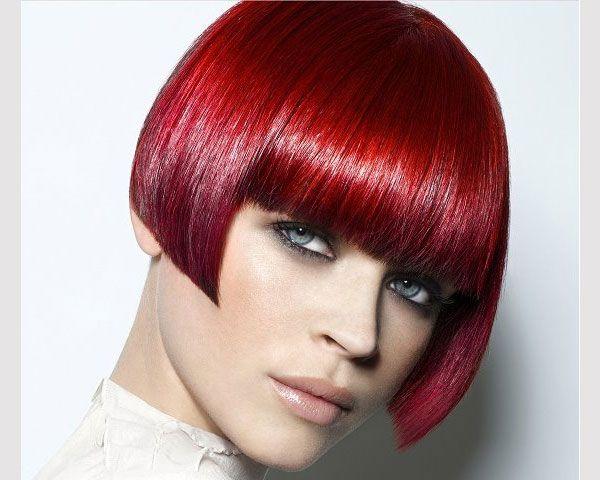 Best 25+ Red Bob Haircut Ideas On Pinterest