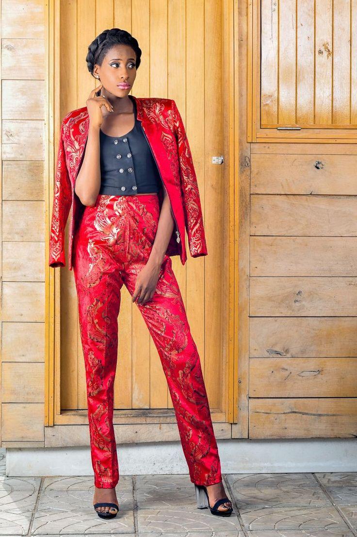 African fashion designer Emmy Kasbit