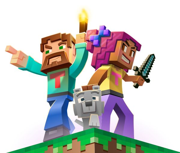 Learn coding through minecraft skins
