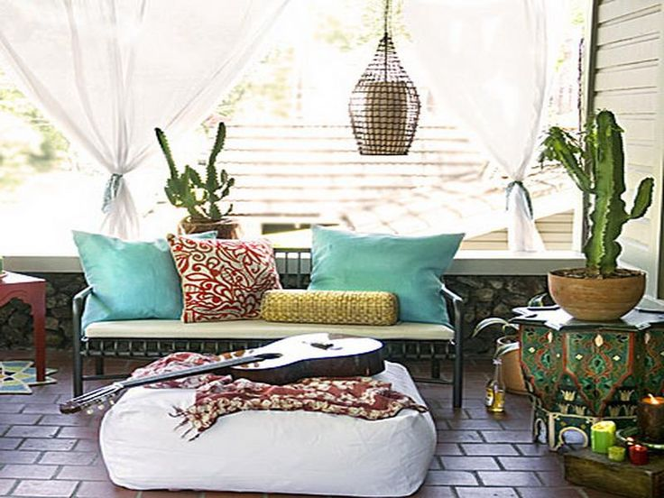 Bohemian Furniture with Plants