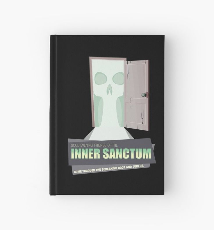 Inner Sanctum Notebook #notebook #sketchbook #artistsketchbook #OTR #oldtimeradio #innersactum #innersanctummysteries #radiodrama #radio