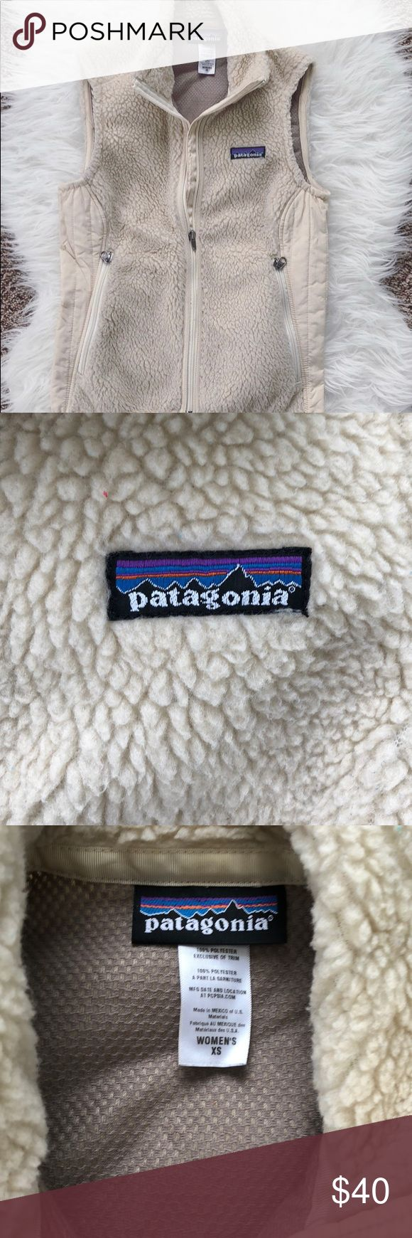 Patagonia Sherpa Vest Women's Patagonia Sherpa/Polyester Vest. Worn gently and still in good condition! Patagonia Jackets & Coats Vests