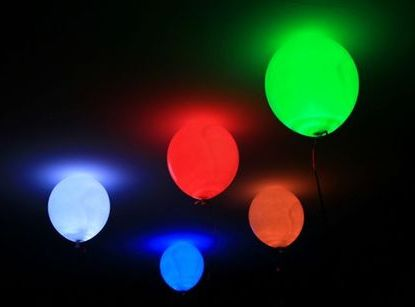 Balloon LED Light Lamp Lites White 6pack -- Only $9.99 ** Free Shipping -- www.GadgetPlus.ca
