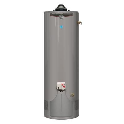 Rheem performance platinum 40 gal tall 12 year 36 000 btu for Www homee