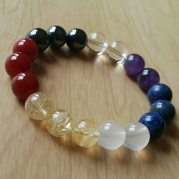 7 #chakras #bracelet