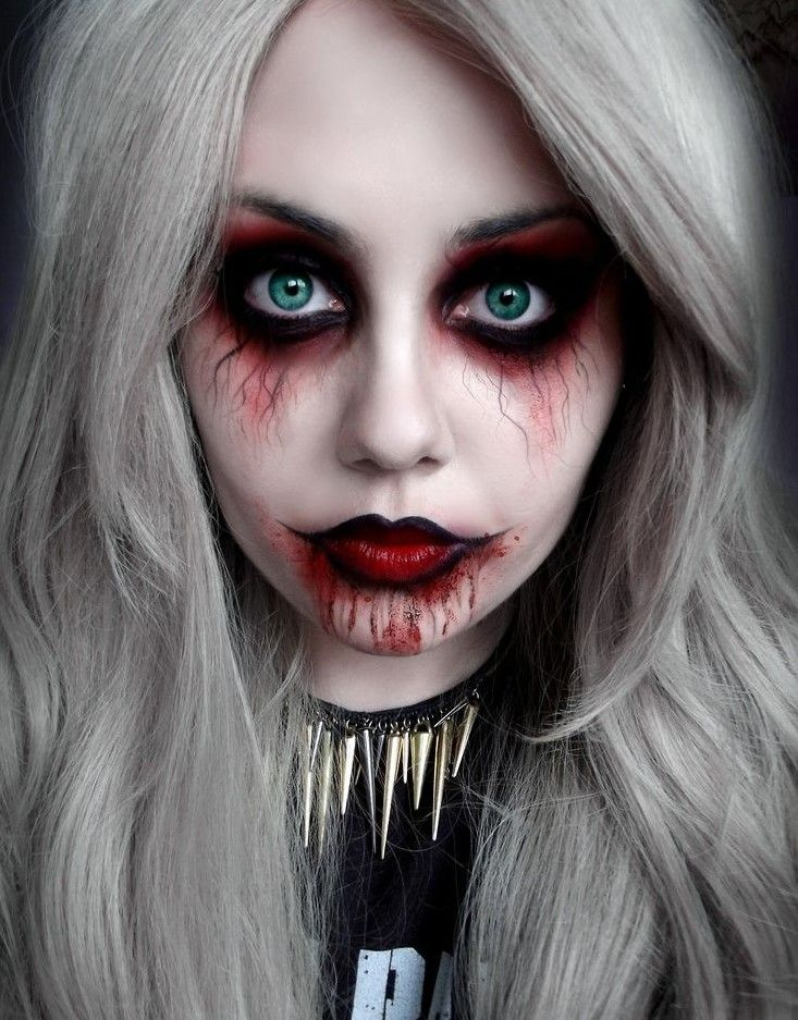 Maquillaje -halloween                                                                                                                                                                                 Más