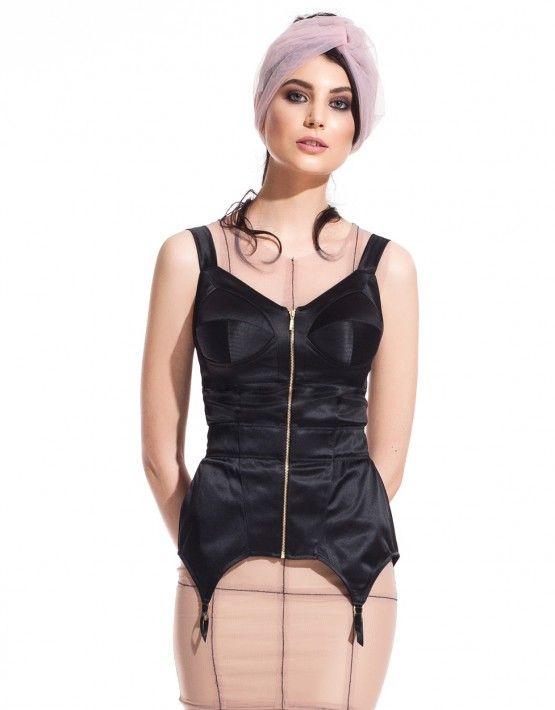 suspender corset