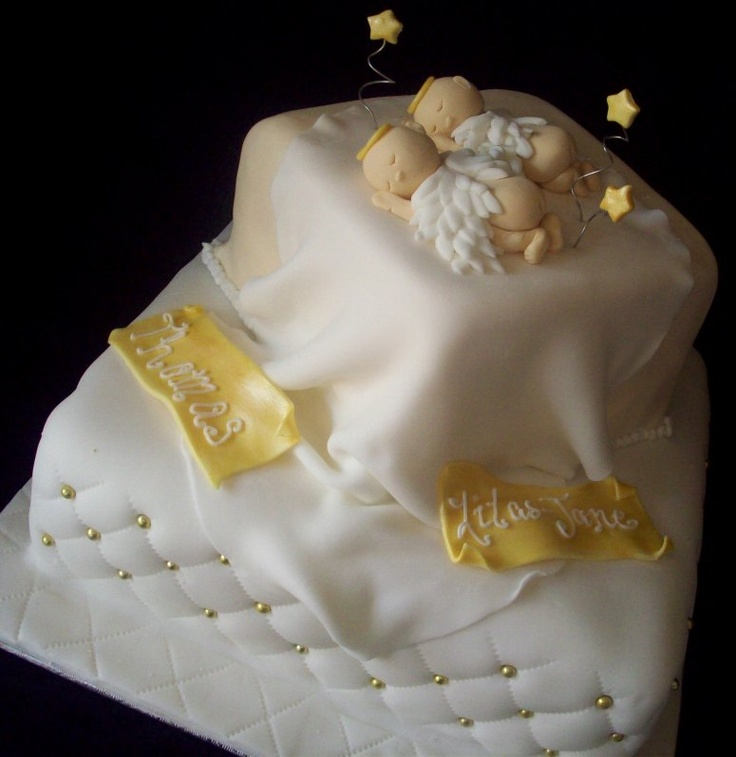 gâteau baptême superbe