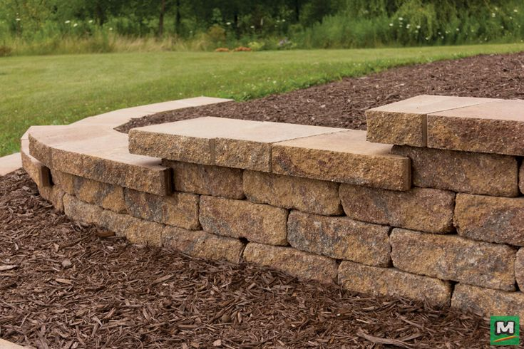 "Beautify your backyard with Tumbled Catalina Retaining Wall Blocks.  Tumbling the blocks helps them blend naturally with its surroundings, accenting the beauty of the outdoors.  These 5"" x 15"" x 8-1/4"" Catalina Blocks install with ease thanks to their unique rear lip system.  The perfect size for hillsides, planters, gardens and more!"