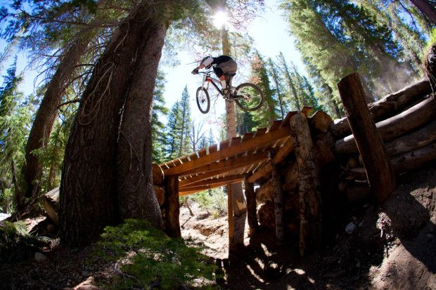 Mammoth California is the biggest bike park in the west with over 80 miles of cross country and downhill trails