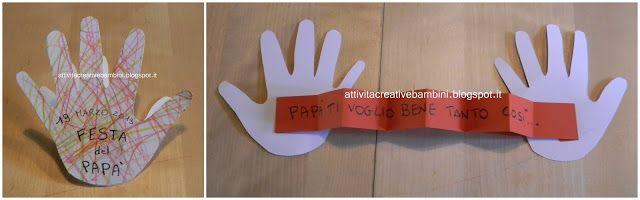 Attività Creative Per Bambini: Festa del Papà: TVB tanto così