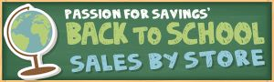 Back to School Sales 2013...for all of the mothers and teachers out there