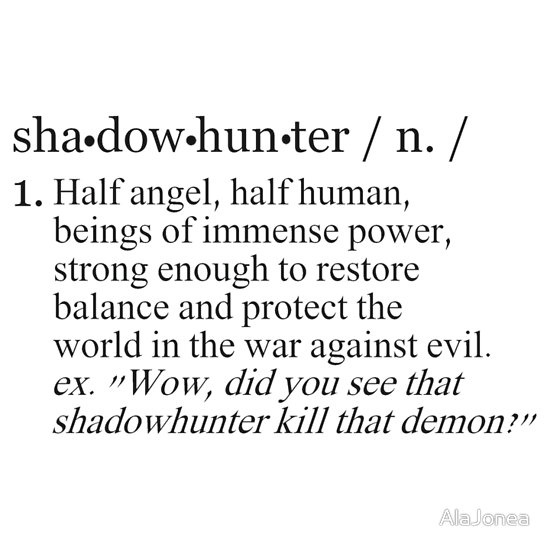 Shadowhunters: Looking Better in Black than the Widows of our Enemies Since 1234