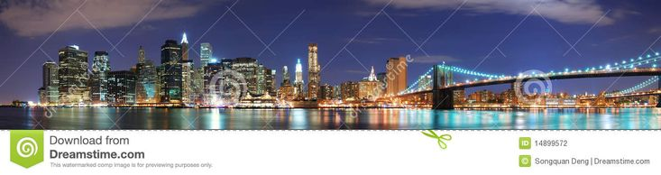 New York City Manhattan Skyline Panorama - Download From Over 54 Million High Quality Stock Photos, Images, Vectors. Sign up for FREE today. Image: 14899572
