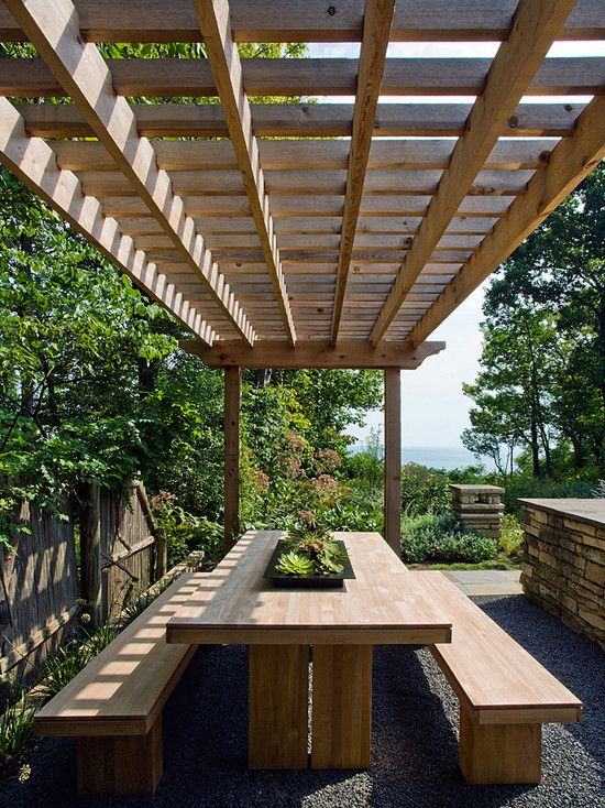 Modern Landscape Pergola Design, Pictures, Remodel, Decor and Ideas - page 3