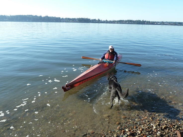 Kayak on Puget Sound.