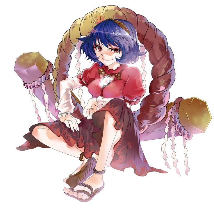 Touhou - Yasaka Kanako https://www.pixiv.net/member_illust.php?mode=medium&illust_id=8193232