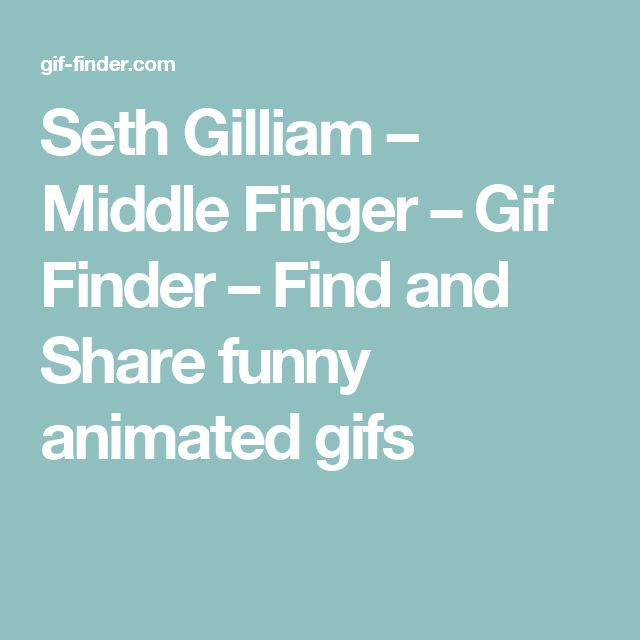 Seth Gilliam – Middle Finger – Gif Finder – Find and Share funny animated gifs