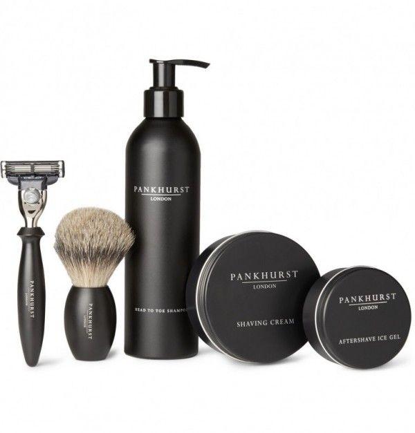 Pankhurst London shaving kit