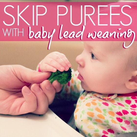 We're doing baby led weaning and love it. It's not just good for baby's development, it's fun and way easier than purée and spoon feeding!