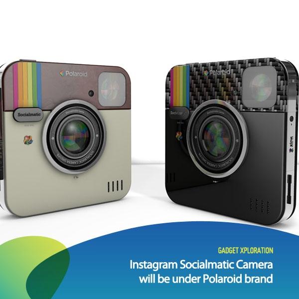 Rencana Instagram untuk membuat sebuah kameranya sendiri nampaknya akan menjadi kenyataan. Instagram Socialmatic Camera, merupakan nama dari kamera Instagram tersebut. Kamera ini akan berada di bawah nama merek Polaroid yang pada zamannya juga terkenal dalam industri instant-camera.