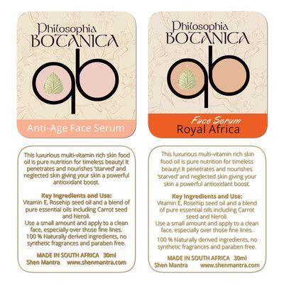 #Graphic Design Cape Town #label design