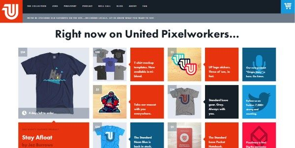 Liked these big buttons from Flat Design. http://www.unitedpixelworkers.com/