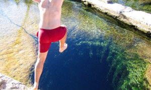 This underwater cave is also an incredible Texas swimming hole - Posted on Roadtrippers.com!