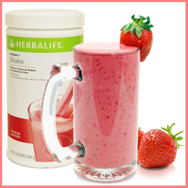 Jual Shake Mix Wild Berry Herbalife Shake Strawberry + Kotak Packing Aman - Toko Nutrend Herbal | Tokopedia