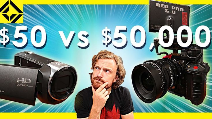 $50 Camcorder Vs $50000 Cinema Camera   Corridor Team are going to compare a $50 Sony HD camcorder to $50000 Red cinema Camera  Text image and video via Sam and Niko SUBSCRIBE Get Latest VideosPromotions & Exclusive Offers Via Email: We don't send spam!  Cinematography equipment