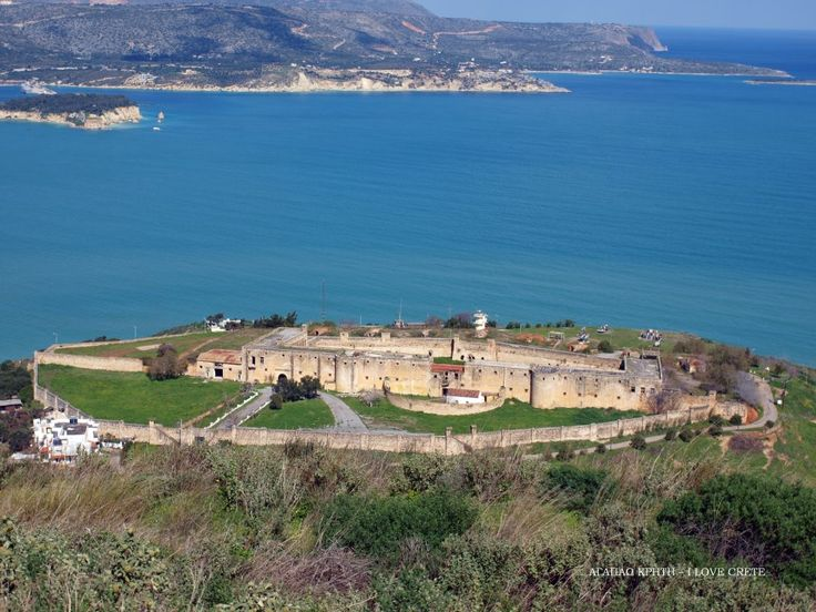 The fortress of Itzedin - located near the village of Kalami in Chania, was built by the Turks and used to operated as a prison - Greece