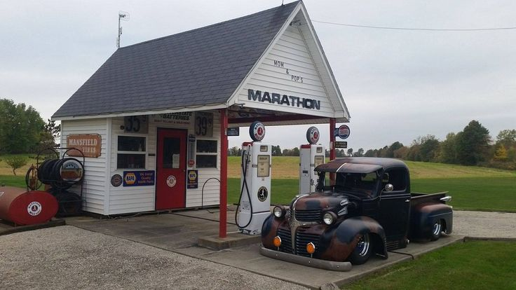 368 Best Images About Old N New Gas Station On Pinterest