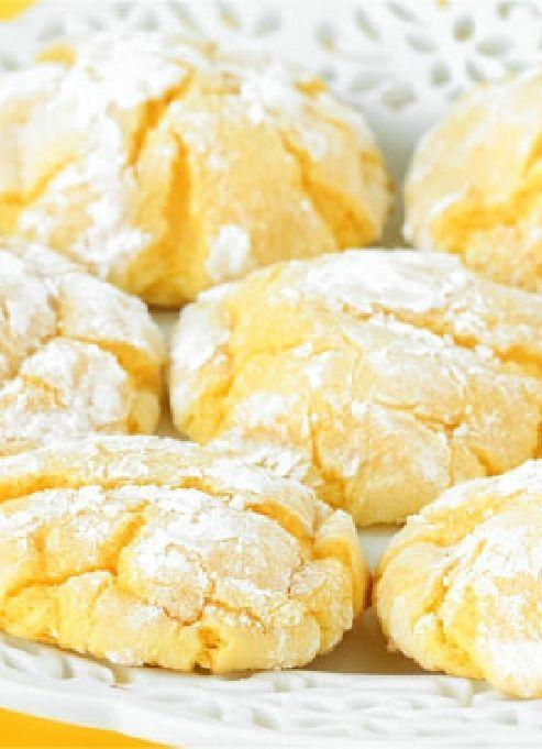 Low FODMAP & Gluten free Recipe - Lemon cookies  www.ibssano.com/...