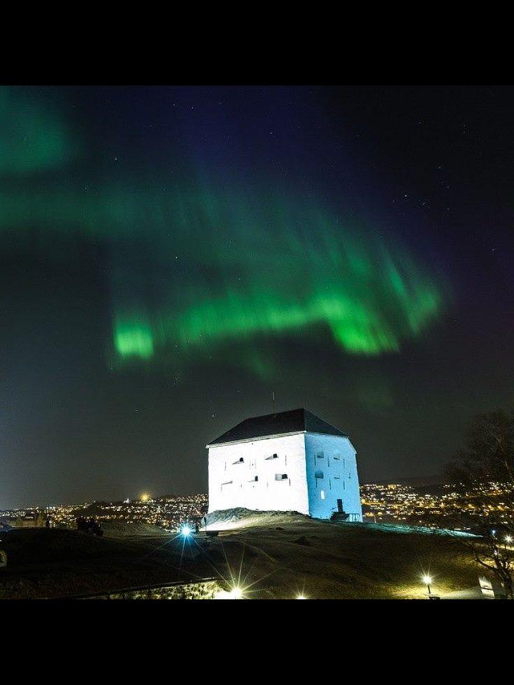 Aurora Borealis 17 mars 2015 Trondheim