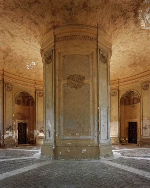 Ceiling in Cuba, photography by Michael Eastman.