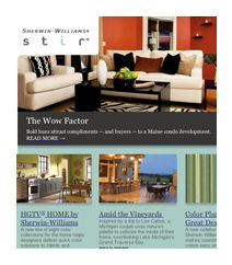 Q&A with commercial designer Karen Herold - Sherwin-Williams A great blog about color