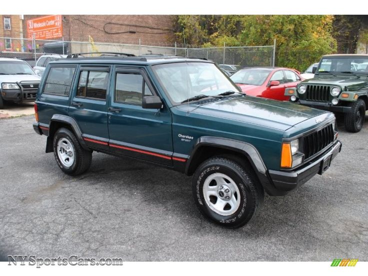 1996 Jeep Cherokee Sport 4WD Jeep cherokee sport